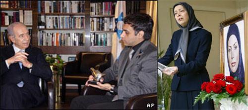 رئیس جمهور مجاهدین خلق در سوگ ندا - رئیس جمهور رژیم صهیونیستی و نامزد ندا
