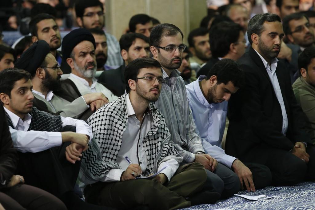 دیدار دانشجویان بار رهبری - ۱۳۹۳